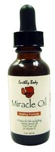 Miracle Oil by Earthly Body. Not only an amazing cuticle oil but also used for razor bumps, scars, burns, cuts and foot fungus. A little bit goes quite a long way.