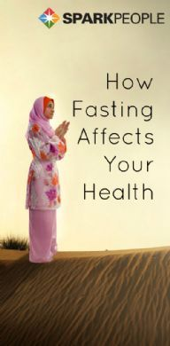 Lent, Ramadan, The Daniel Fast and more: Here's what research tells us happens in the body when fasting for religious purposes. | via @SparkPeople #diet #nutrition #spirituality