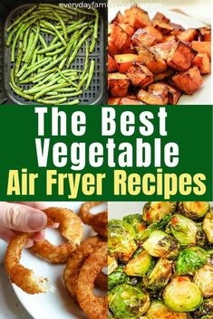 The Best Air Fryer Vegetables So You Never Have to Microwave Again