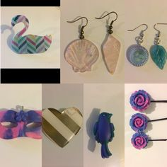 Use code black25 to get 25% off your $10+ order at www.lilandariy.etsy.com #blackfriday #onsale #forsale #jewelry #resin #hair