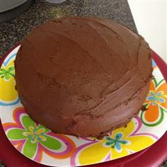 Best Chocolate frosting! Use 2 sticks of butter softened instead of melted.