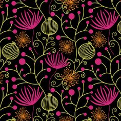 Cavell Ferguson | Winter Garden | Module 1 Designing Your Way | September 2015 class | The Art and Business of Surface Pattern Design | Make it in Design
