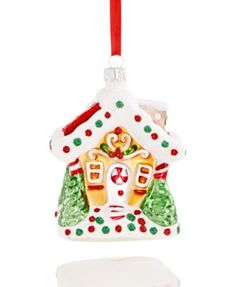 Holiday Lane Gingerbread House Ornament