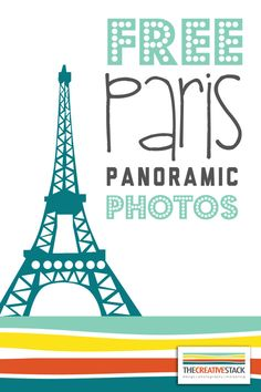 Happy Freebie Friday! I thought it was about time to give away some beautiful images.I took a trip to Paris last year and here are some panoramic shots I got on a trip to the Eiffel Tower. What …