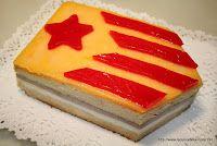 La cuina de sempre: Pastís de la Diada de Catalunya de nata i trufa
