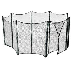 Universal Trampoline Net to Enclose Multiple Large to Extra Large Tampoline Frames - Use for multiple amount of poles - Bungees Included!