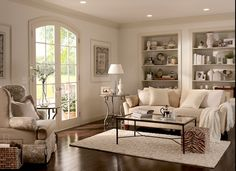 BEHR Majestic Buttercup Living Room