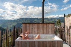 Privat SPA Dachterrasse - Wellness - Ferienwohnungen in Südtirol - Sonnleiten