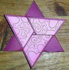 pattys kreativ seite: Workshop zur Dreiecks-Sternen-Karte