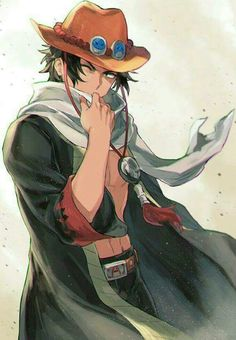 Portgas D Ace/ One piece manga ⚓⚓⚓