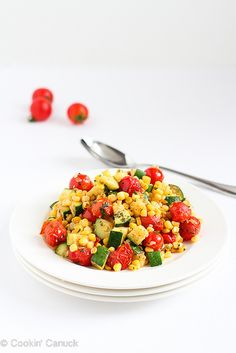 summer sides, summer side dishes, salad recipes, tomato recipes