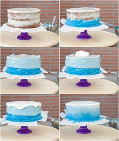 Frozen Themed Birthday Cake, Birthday Cake Girls, Themed Cakes, Frozen Theme Cupcakes, 4th Birthday, Frozen Castle Cake, Frozen Cake, Bolo Frozen, Torta Baby Shower