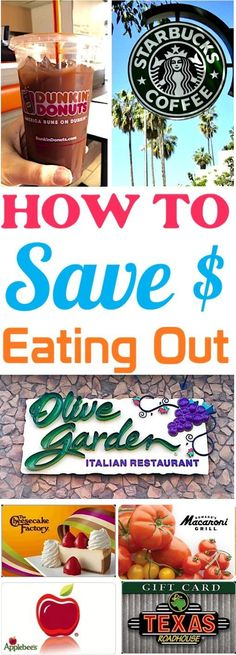 Save Money on Food While Traveling! How to Eat Out on a budget at your favorite restaurants! #4 saves SO much!
