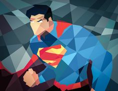 Superhero Illustrations by Eric Dufresne
