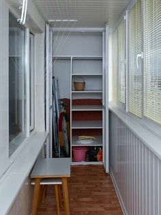 Small balcony is not a sentence! / How to save … - All About Balcony Interior Balcony, Apartment Balcony Decorating, Balcony Design, Apartment Living, Small Closet Design, Closet Designs, Home Room Design, House Design, Ideas Armario