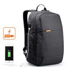 Качественный мужской рюкзак с USB