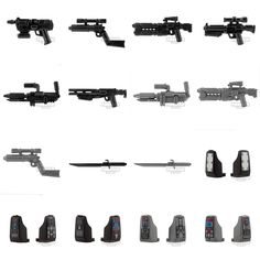 New arealight minifigure weapons and printed vambraces! - www.firestartoys.com #lego #minifigures #legocustom #moc #legomoc #legominifigure #minifig #minifigs #AFOL #firestarlego #starwarslego #legostarwars