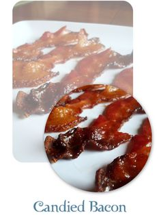candied bacon {rookie cookie} #recipe