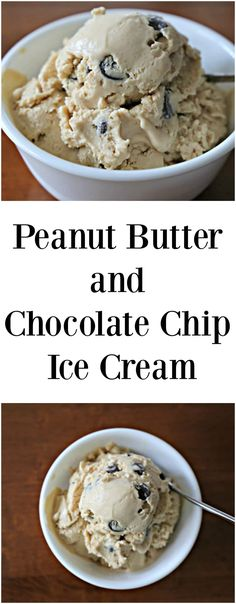 Peanut Butter and Chocolate Chip Ice Cream This recipe is so good you'll be surprised that it is dairy free!