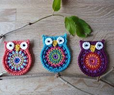 Owl 'big brother' crochet pattern by ATERG.crochet