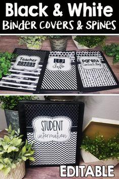 Classroom Organization Labels, Classroom Decor Themes, Budget Organization, Organizing Ideas, Student Binders, Student Portfolios, Middle School, Back To School, High School