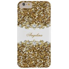 Silver White Gold Faux Diamond Jewel Glitter Case-Mate iPhone Case 92ee5f62bb
