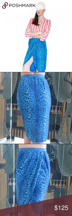 By Malene Birger skirt By Malene Birger. Teal knee length tulip skirt. European Size 32 (US Size 0). (EUC) By Malene Birger Skirts Pencil