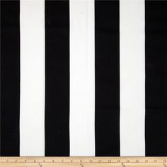 Premier Prints Vertical Stripe Black/White from @fabricdotcom  Screen printed on cotton duck; this versatile medium weight fabric is perfect for window accents (draperies, valances, curtains and swags), accent pillows, duvet covers and upholstery. Create handbags, tote bags, aprons and more. *Use cold water and mild detergent (Woolite). Drying is NOT recommended - Air Dry Only - Do not Dry Clean. Colors include white and black.