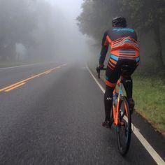 """Stigmata training through the Santa Cruz early morning fog with   SantaCruzFactoryRacing rider Justin Robinson 33215cd2e"