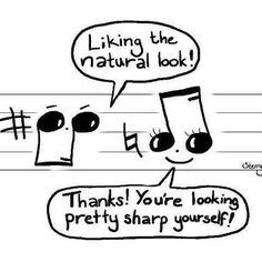 ♪♫ music humor......only music people would get this