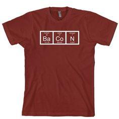 Bacon Chemistry tee