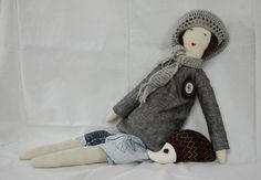 Венгерский художник Eszterda - куклы-примитивы. Обсуждение на LiveInternet - Российский Сервис Онлайн-Дневников