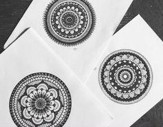 #mandala #illustration #drawing #black&white
