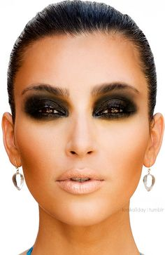 Smoky eyes gone wrong!  Actually this should be in my humour section!