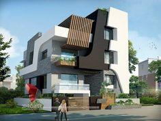 3d animation, 3d rendering, 3d walkthrough, 3d interior, cut section, photomontage in india: | 3D Bungalow