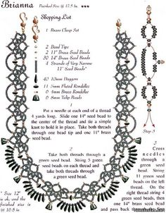 beads necklace