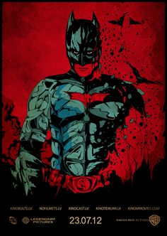 Batman Dark Knight Nolan Alternate Graphic Movie Posters By Harijs Grundmanis Geek Art