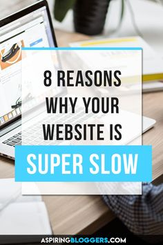 Frustrated with your slow-loading website? Discover these 8 reasons why your website is unbearably slow and how to fix it. Social Media Digital Marketing, Social Media Tips, Internet Marketing, Online Marketing, Content Marketing, Web Design, Website Maintenance, Blogger Tips, Blogging For Beginners