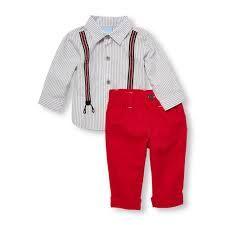 Resultado de imagen para ropa niño con tiradores
