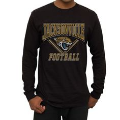 This long sleeve Jacksonville Jaguars t-shirt is best paired with your favorite casual jeans.
