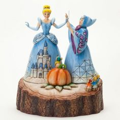 Magical Transformation-Cinderella Carved By Heart Figurine by Jim Shore, stone resin, 2013.