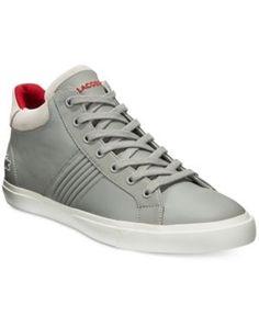 Lacoste Men's Fairlead Mid 316 1 Sneakers - Gray 8.5