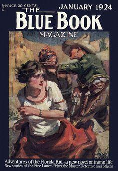 Blue Book  [1924-01] cover
