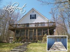 #Lakefront Price Reduction-Conveniently located on the #lake & w/in walking distance to the #pool, this young #Chalet features 3 bd, 2.5 ba, gas stove, 2 tier deck, screened-in porch, office & large fam rm. Very roomy. Paved drive & awesome lake views. Also includes dock, landscaping & scenic views. $189,000 #RealEstate #ForSale #PikeCounty #DingmansFerry #PriceDrop #ChantRealtors Dave Chant & Nicole Patrisso Davis R. Chant Realtors www.chantre.com 570.296.7717