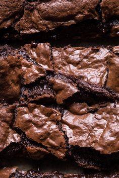 Crinkle Top Fudge Brownies - Another! Fudge Brownies, Nutella Brownies, Beste Brownies, Blondie Brownies, Homemade Brownies, Boxed Brownies, Brownies From Scratch, Healthy Brownies, Caramel Brownies