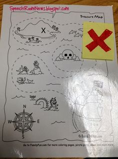 Ahoy! It's pirate week for my preschoolers! Here's a peek at some speech and language ideas for preschoolers! The book I read at circle was How I became a Pirate, which is a cute book about a boy who becomes a pirate. That is until he finds out you don't get goodnight stories and tuck-ins [...]