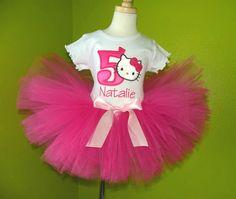 Hello Kitty Stars 1st Birthday Tutu Outfit Party Dress Set online Hello Kitty