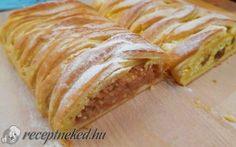 Almás és túrós kígyórétes Bread, Bakeries, Breads