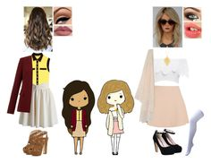 """""""Chibi Inspired Outfits #12"""" by nikkie-fen ❤ liked on Polyvore"""