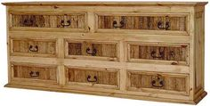 Mexican style wood furniture store